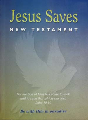 NASB Jesus Saves NT $1.13ea